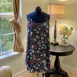 Ann Taylor LOFT Spaghetti Strap Dress Size XL